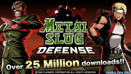 Trucchi Metal Slug Defense APK Android
