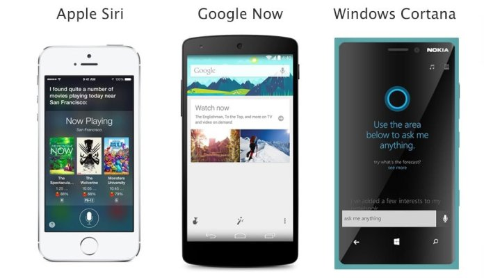 Google Now e Siri