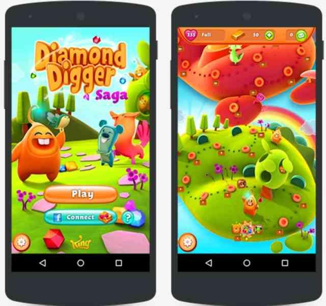 Trucchi Diamond Digger Saga APK Android
