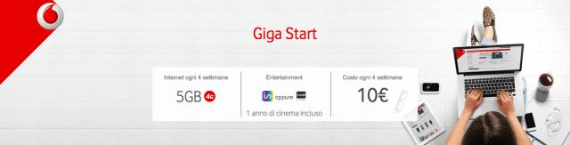 Vodafone Giga Start