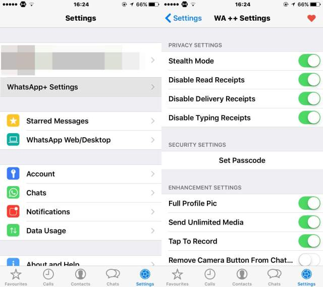 WhatsApp Plus anche su iPhone