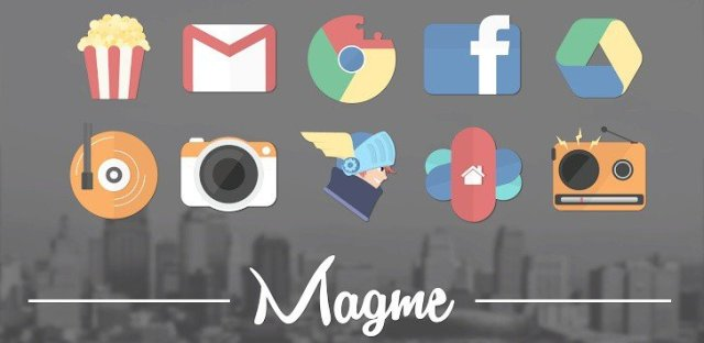 Magme – Icon Pack