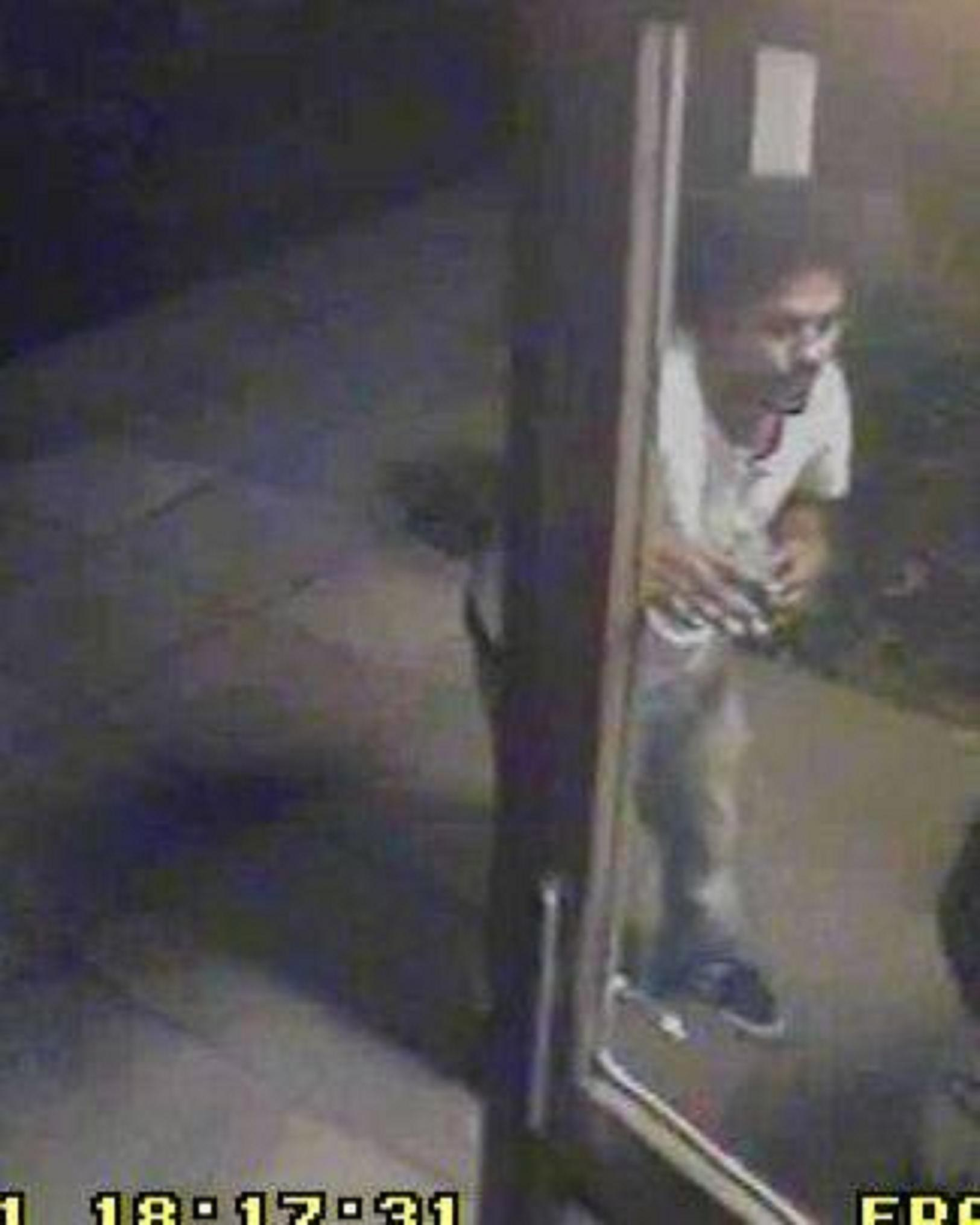 Your Local Guardian: A cctv image of the suspect