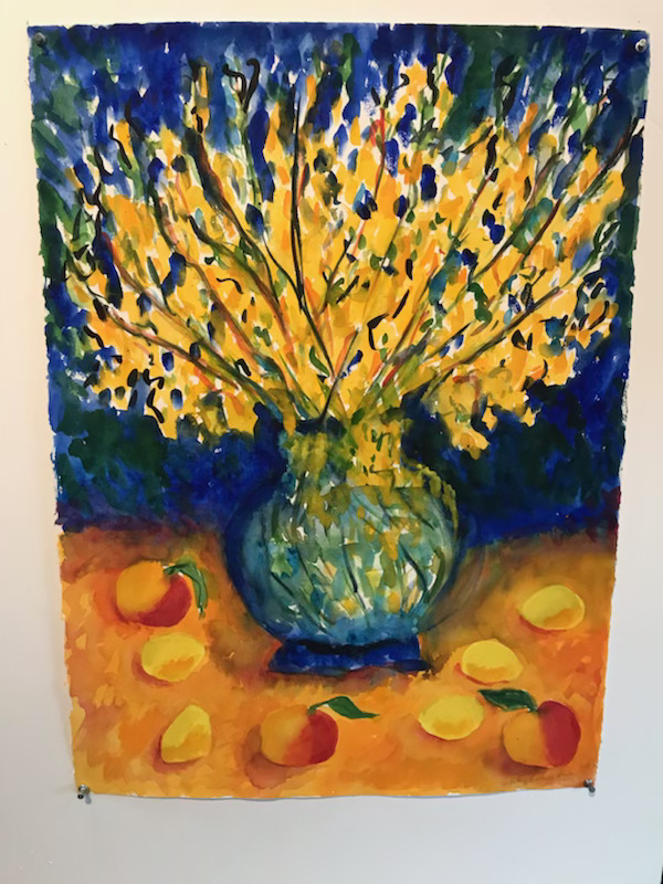 Celebration of the Table: Still Life Paintings by Judy Bumgardner on display at the Deltaville Branc