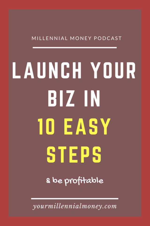 Laughing a business is easy but making it successful and profitable is something else. I'm sharing my 10 easy steps to launching your biz and what you need to do for business success. #entrepreneur #girlboss