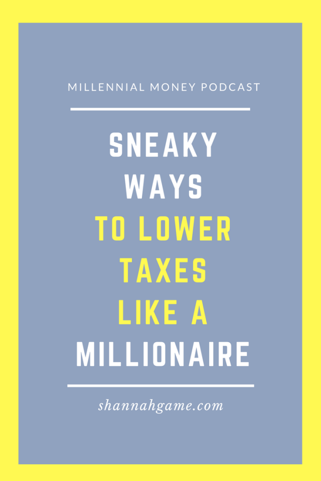 Millionaires know one thing - how to be savvy with their money and limit the amount of taxes they pay. Check out some of their secrets to lowering your taxes and get yourself one step closer to the millionaire mark.