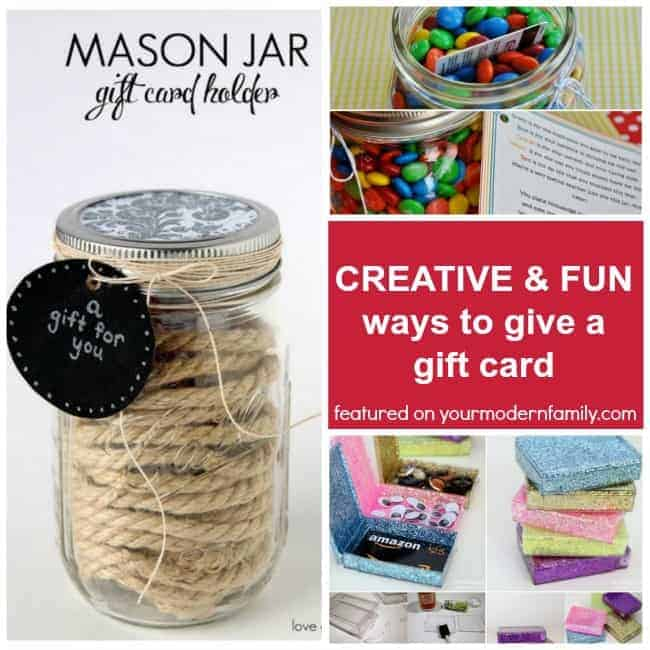 5 Fun Ways To Give A Gift Card Your Modern Family