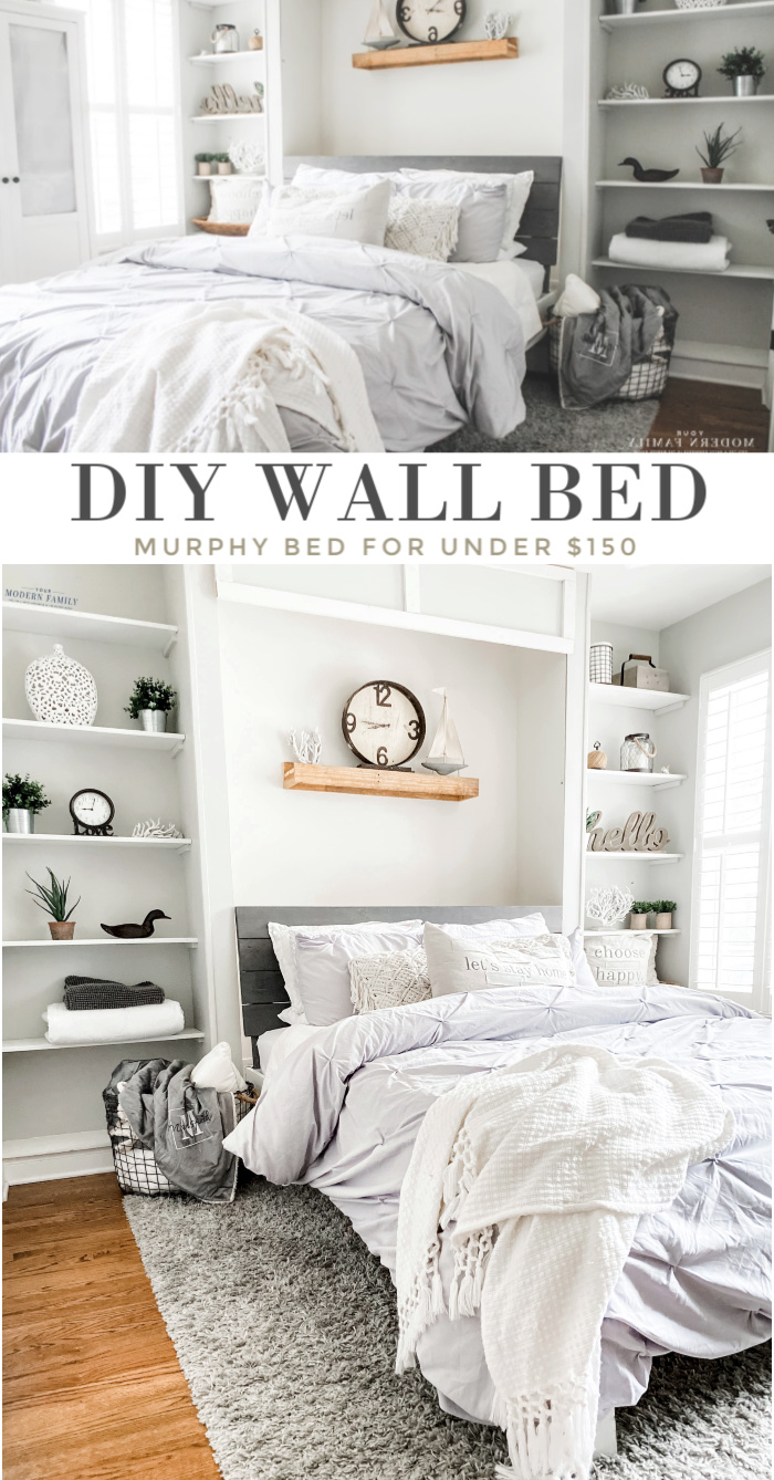 build a murphy bed without a kit for