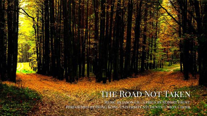 Robert Frost The Road Not Taken