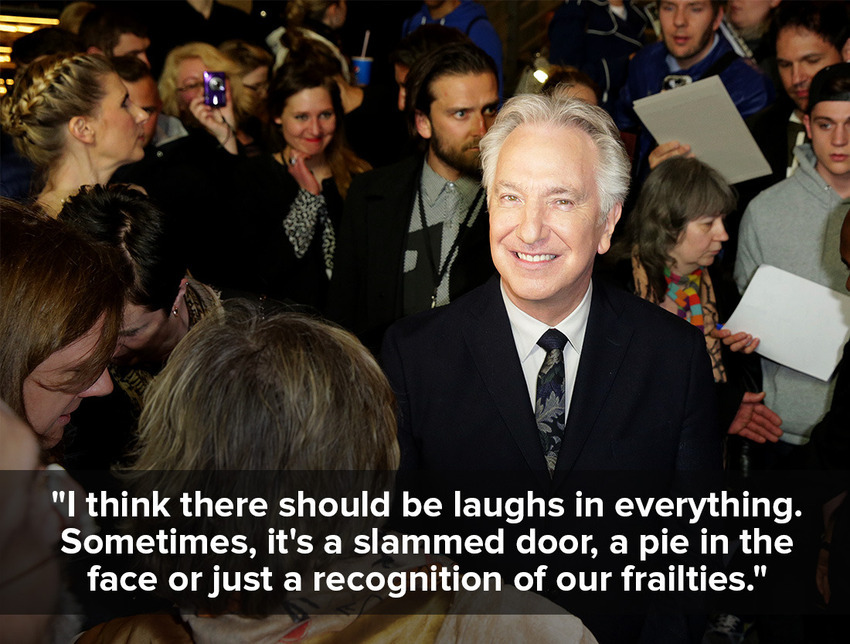 inspiring quotes by Alan Rickman 7
