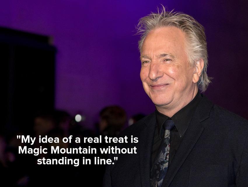 inspiring quotes by Alan Rickman fea