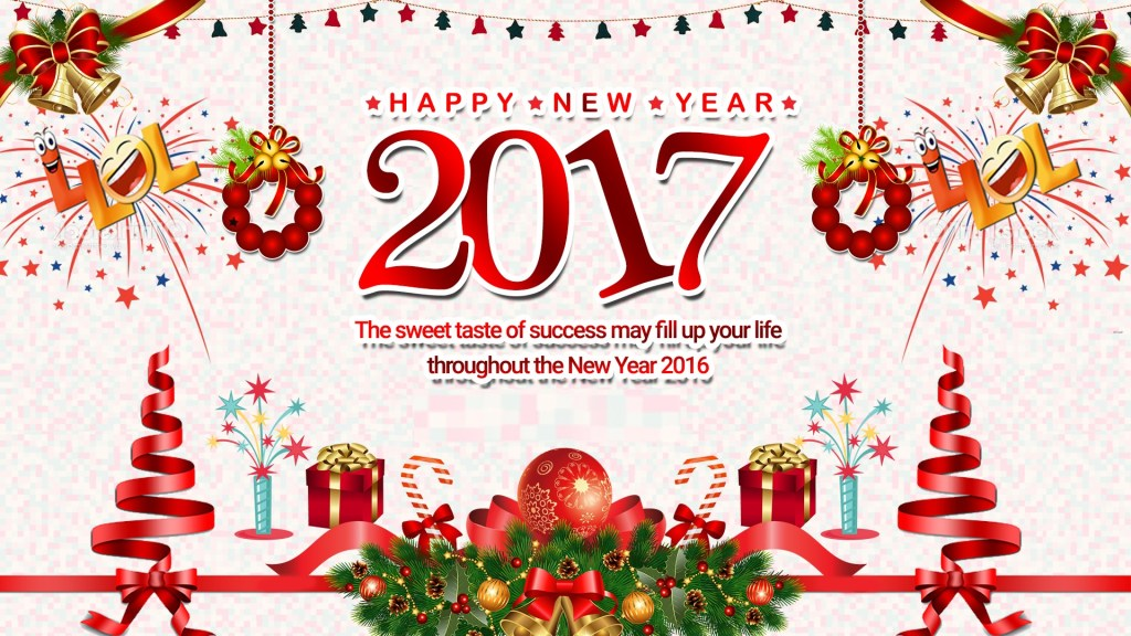 Happy New Year 2017 Quotes, Wishes, Messages, Images, SMS and Greetings