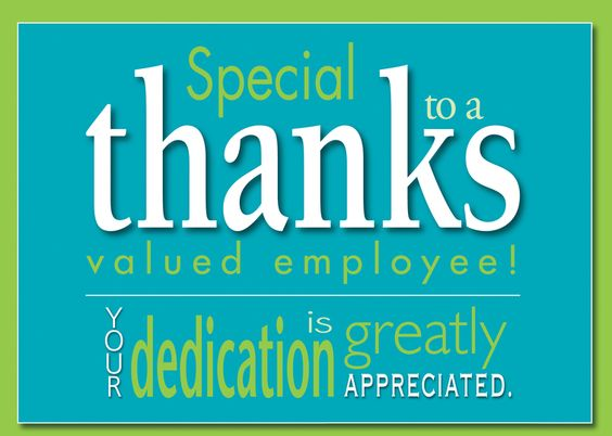 Image of: Wishes Employee Appreciation Day Inspirational Quotes Employee Appreciation Day Thank You Messages For Employees The 6q Blog 20 Best Employee Appreciation Messages To Motivate Your Workforce