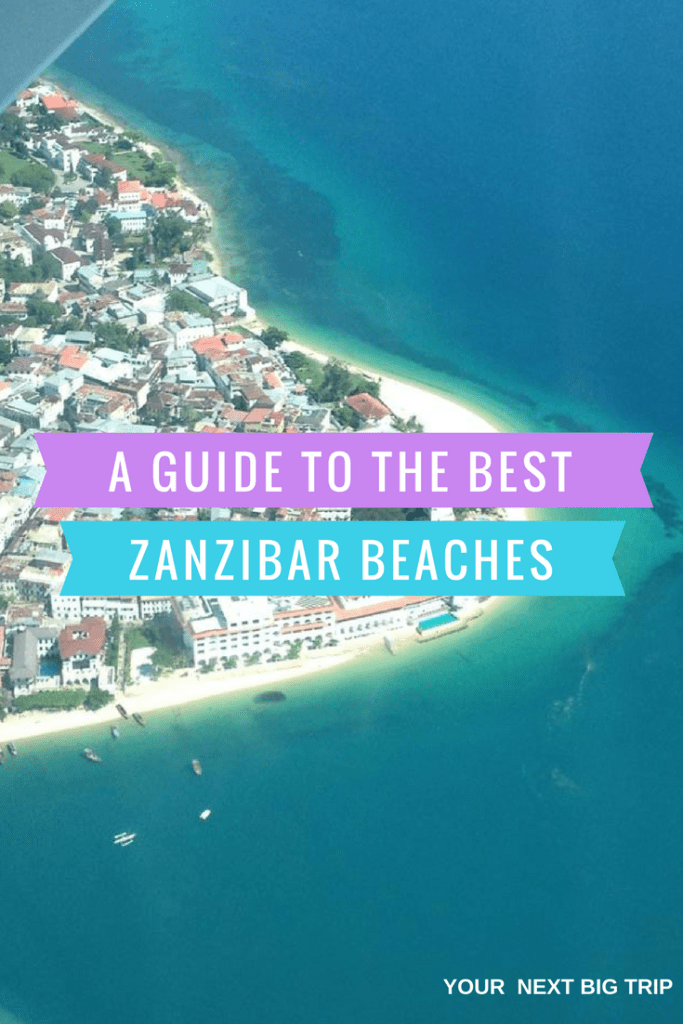 Beaches in Zanzibar