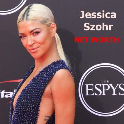 Jessica Szohr's net worth is $4 million dollars