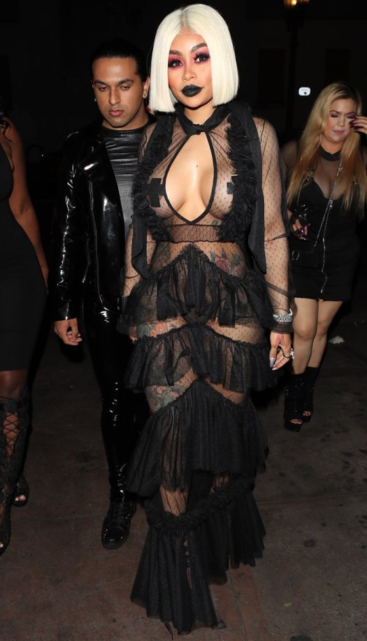 Blac Chyna arriving at the 2018 Benji Ball held at Project LA in Los Angeles on August 15, 2018
