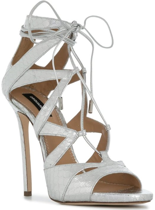 DSQUARED2 Spring 2018 Tied Strappy Sandals