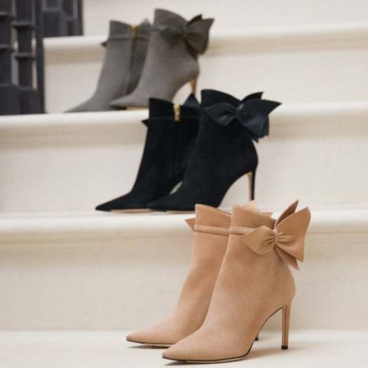 The Kassidy from Jimmy Choo is the signature pointy toe ankle bootie for any occasion