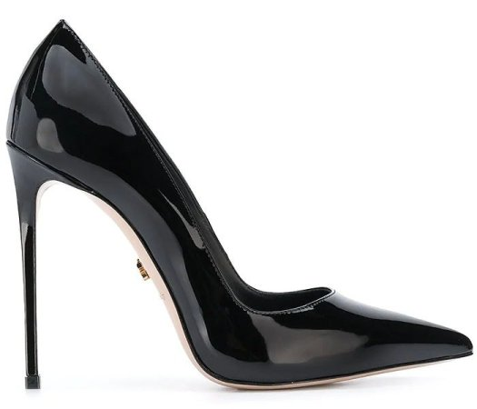 Le Silla Eva Pumps in Black Patent