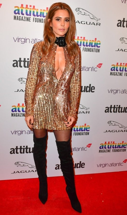 Cheryl Cole attends the Attitude Awards 2019 at The Roundhouse