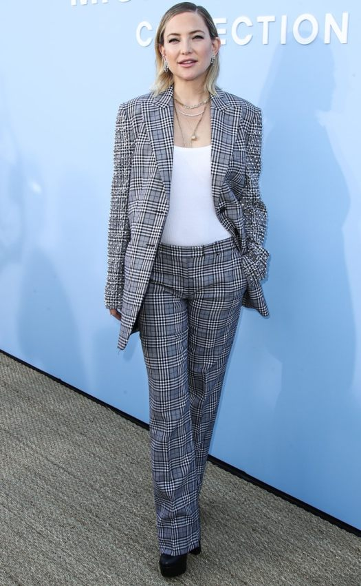 Kate Hudson arrives at the Michael Kors Collection Spring 2020 Runway Show