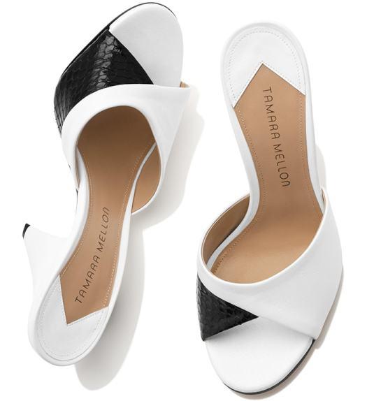 Tamara Mellon Shade Nappa Sandals