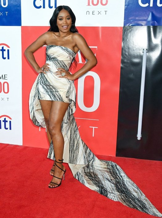 Keke Palmer flaunts her legs at the Time 100 Next Gala