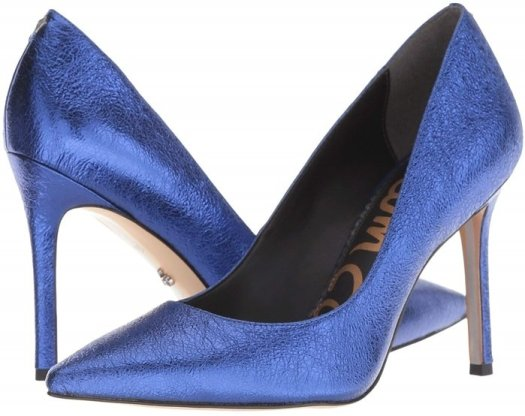 A classic stiletto adds leg-lengthening lift and timeless appeal to an elegant pointy-toe pump