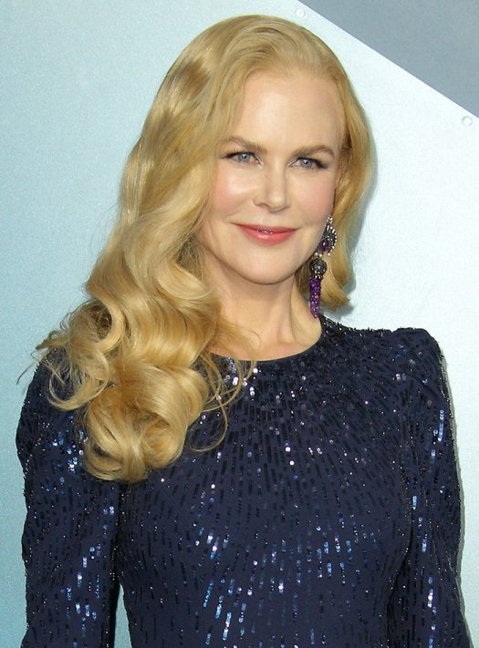 Nicole Kidman channels old Hollywood glamour with vintage finger waves hairstyle