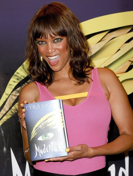 Tyra Banks at the launch of her new book 'Modelland' at Barnes & Noble in Santa Monica on September 14, 2011
