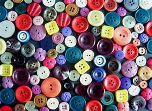Kids Craft: How to make your own masterpiece using beads and buttons- recycling old necklaces