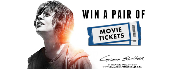 Gimme Shelter Movie Ticket Giveaway