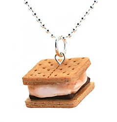 Giveaway: Win a Tiny Hands Smores Necklace From HoneyPieKids.com