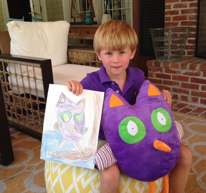 Giveaway:  Win a Personalized Pillow Pal