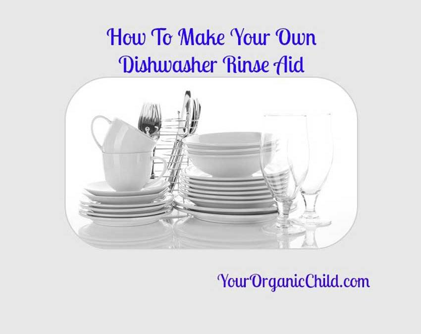 Making Your Own Natural Dishwashing Rinse