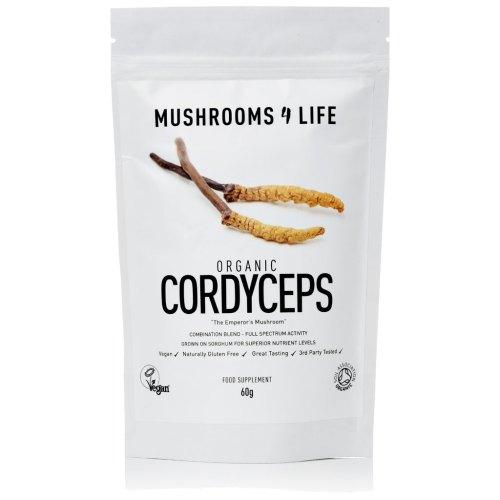Mushrooms4Life-Biologische-paddenstoel-Cordyceps-Poeder