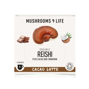 mushrooms4life reishi cacao latte