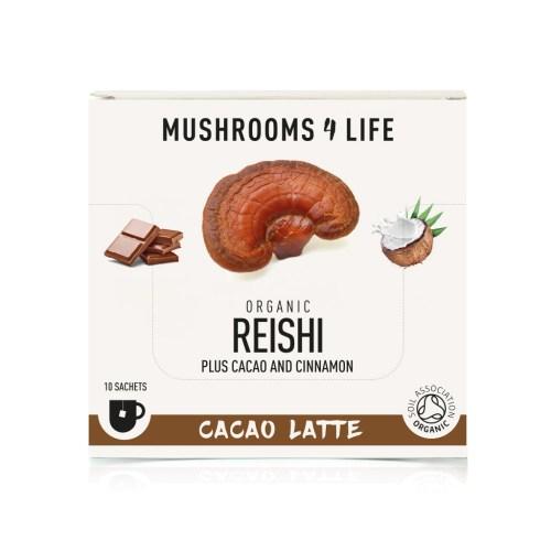 mushrooms4life reishi cacao latte