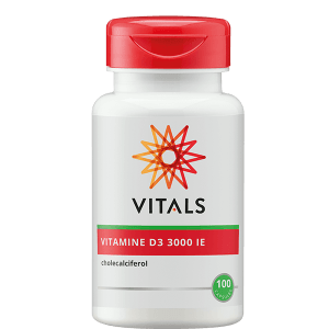 Vitamine D3 3000 ie 100 capsules