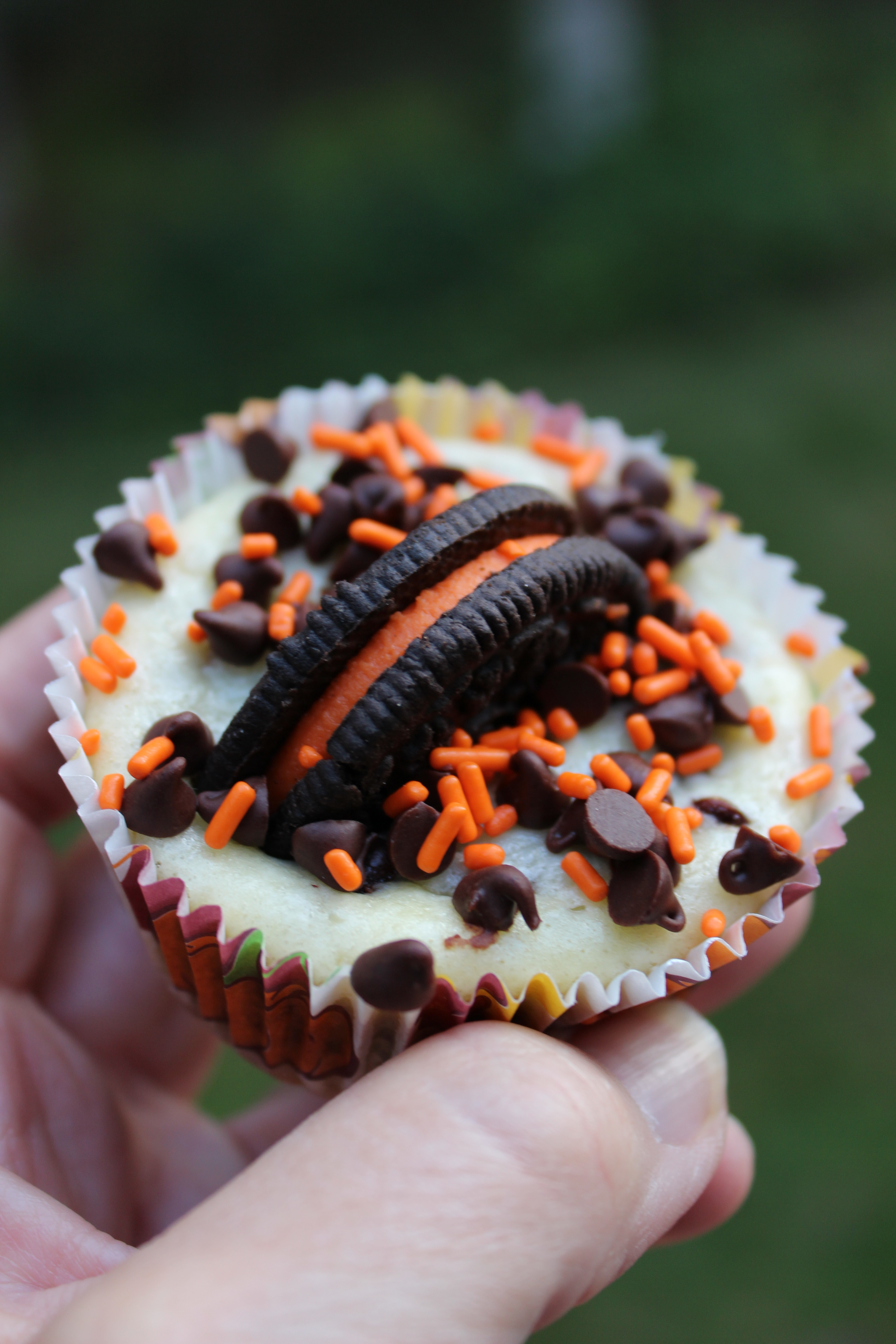Oreo And Mini Chocolate Chip Halloween Cheesecakes Your