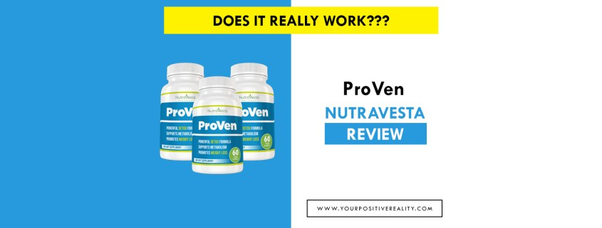 ProVen Review Nutravesta - Proven Supplement Weight Loss Pills