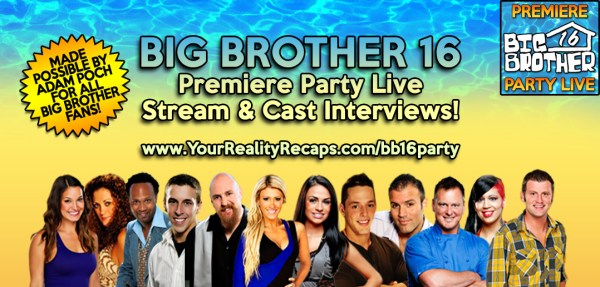 Big Brother 16 N.Y.C. Premiere Party Live Stream With Cast ...