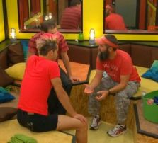Donny Thompson tells Team America he won't nominate them on Big Brother 16 Episode 18