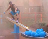 Caleb Reynolds battles it out in Seed Saw once more on Big Brother 16 episode 36