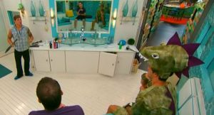 Caleb Reynolds, Cody Calafiore and Derrick Levasseur discuss nominations on Big Brother 16 episode 36