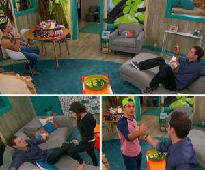 Derrick Levasseur works his magic on Cody Calaifiore, Caleb Reynolds and Victoria Rafaeli on Big Brother 16 episode 38