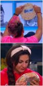 Frankie Grande practices for Veto while Victoria Rafaelli reads on Big Brother 16 episode 37