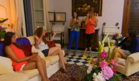 The girls all confront Lisa Racz about her kiss on The Bachelor Canada 2 episode 6