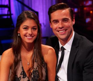 April Brockman and Tim Warmels appear for the first time as an engaged couple on The Bachelor Canada After the  Final Rose