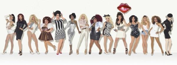 RuPaul's Drag Race season 7 cast photo